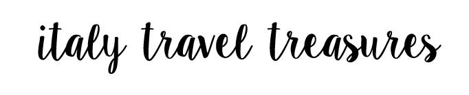 Italy Travel Treasures - Italy Travel Blog