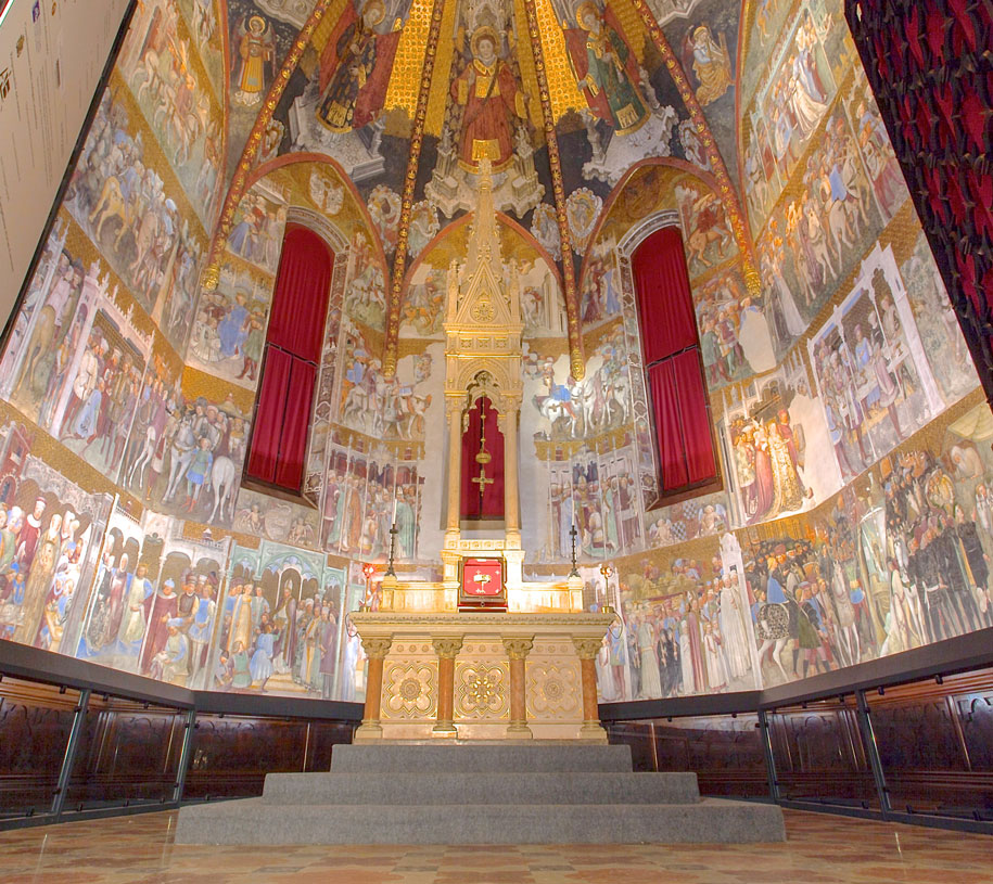 Things to do in Monza - The Teodolinda Chapel