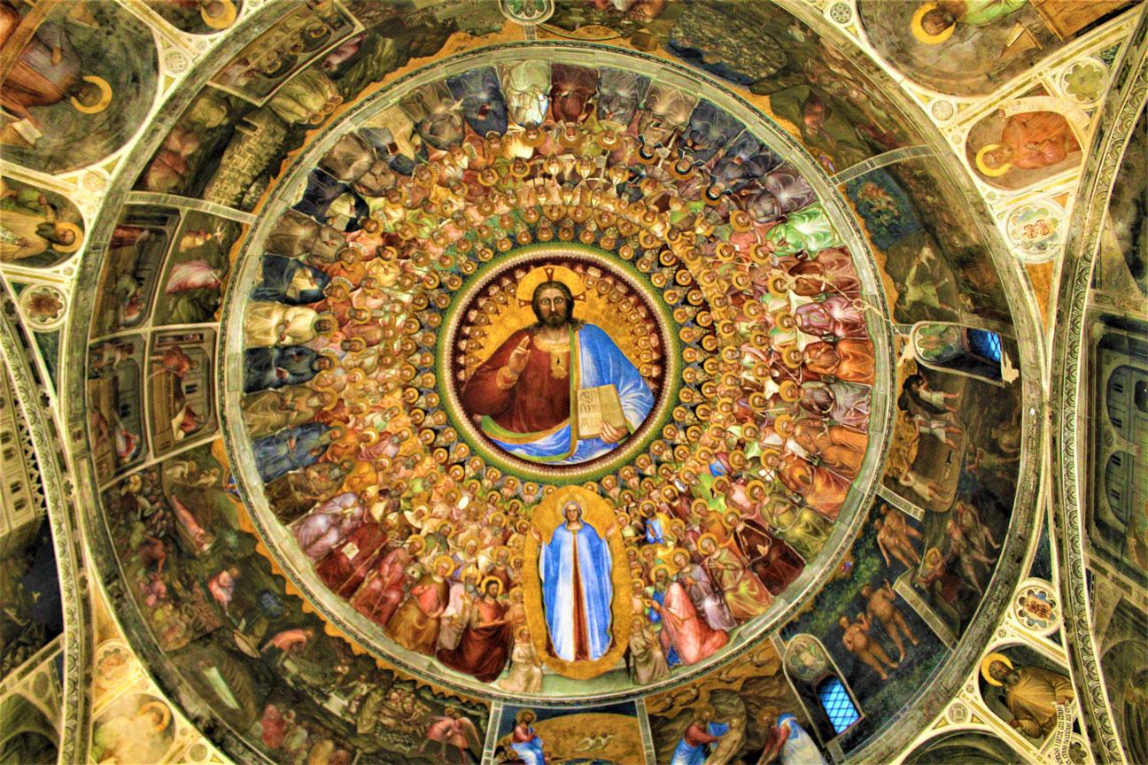 Padua-Frescoes-Baptistery