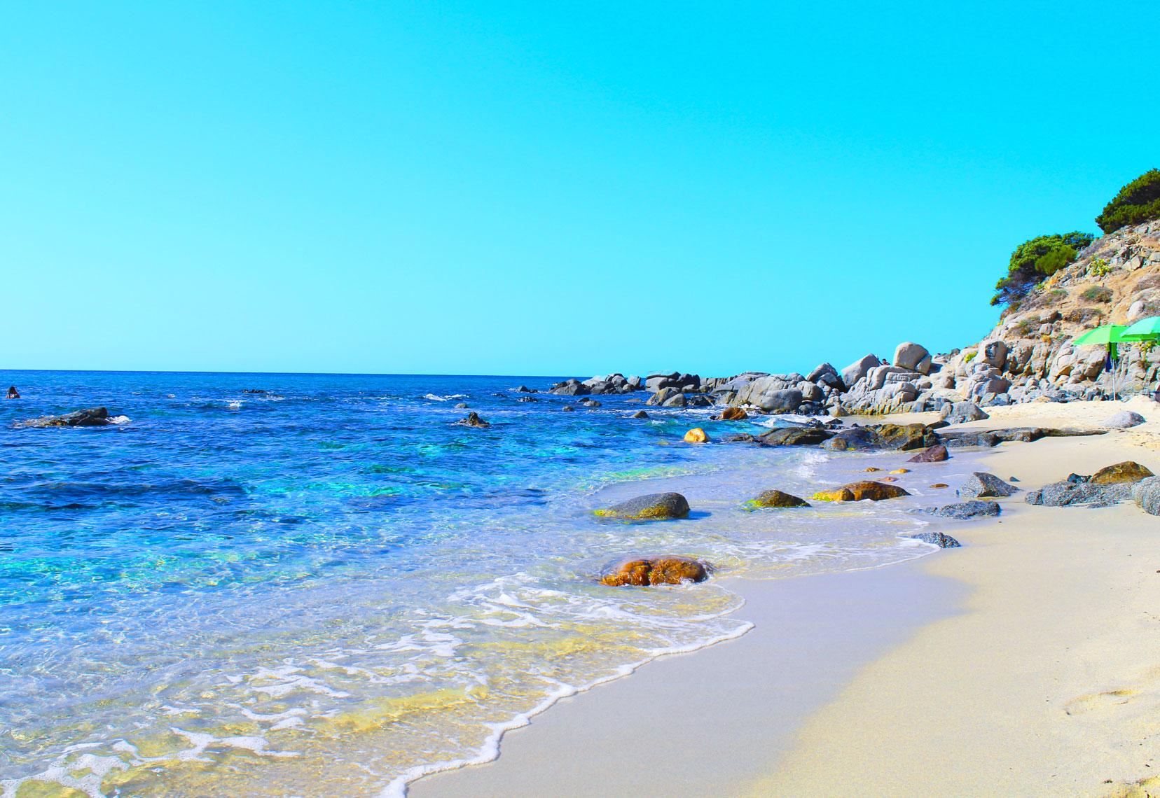 Best Beaches near Cagliari - Porto Sa Ruxi